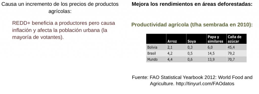 Los aspectos negativos de REDD y las mejoras que propone Bolivia (2)