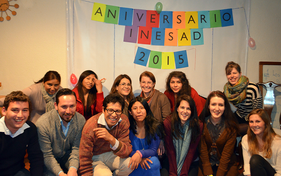 INESAD Anniversary Party participants, July 2015