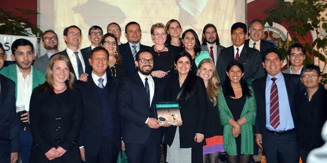 "Most of the authors involved in the book ""El ABC del desarrollo en Bolivia"""