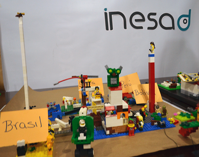 Group 2's vision for INESAD in 2030.