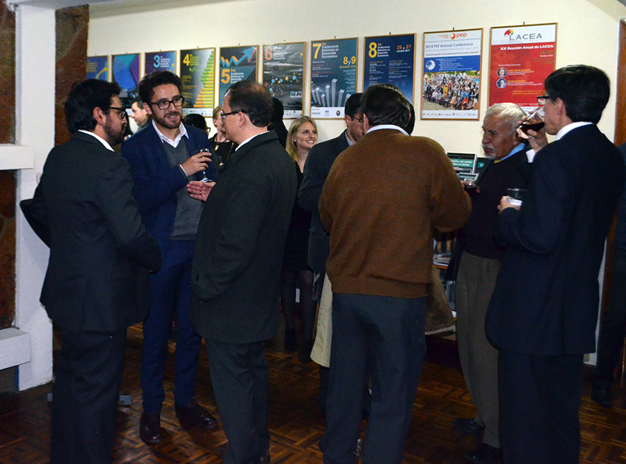 After the formalities, our guests enjoyed meeting up with old and new friends after the Christmas break.