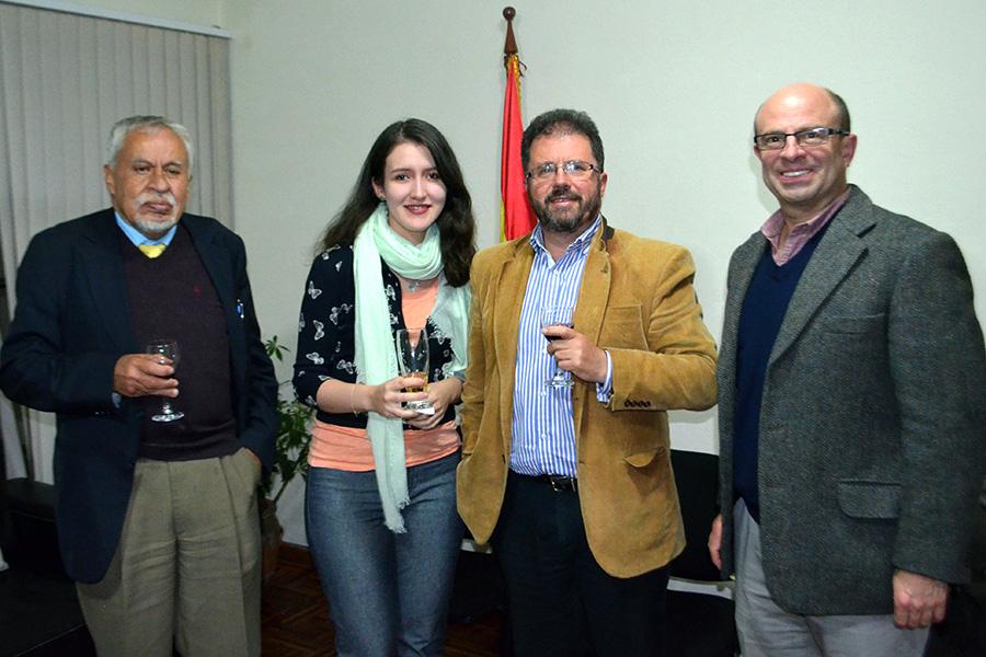 Juan Antonio, Agnes, Miguel and Ricardo.